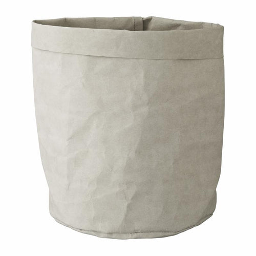 grey storage bag paper large