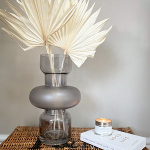 TALL GREY VASE PRICE AND COCO INTERIORS