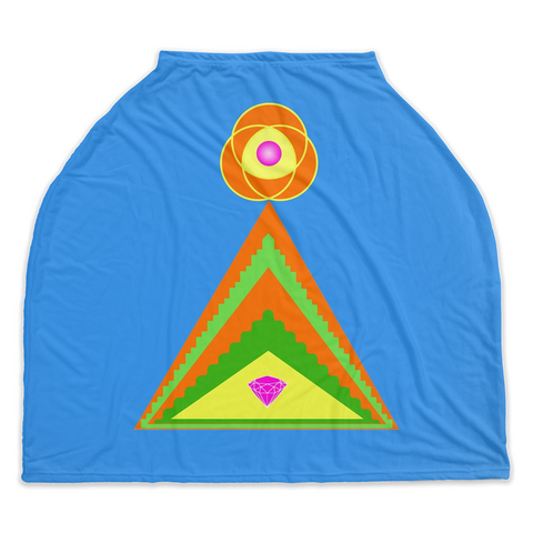 Car Seat Cover - Diamond Pyramid