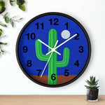 Wall Clock (Numbers) - I Am Cactus