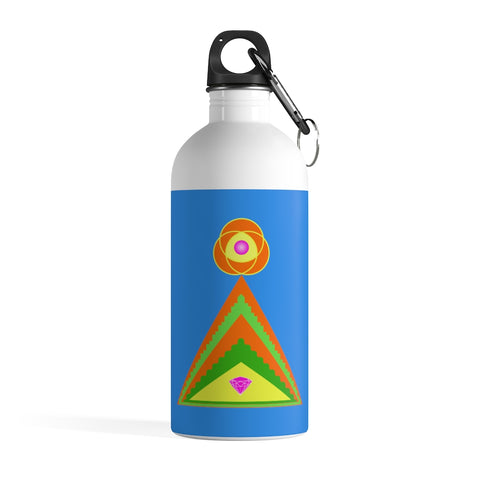 Water Bottle (Stainless Steel) - Diamond Pyramid