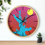Wall Clock (Lines) - Gifting Tree