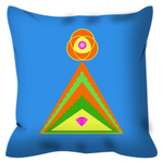Outdoor Pillow - Diamond Pyramid