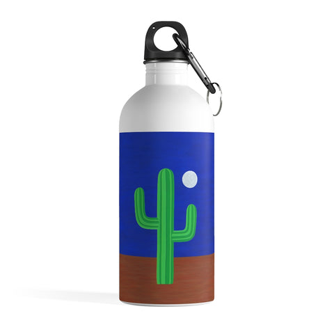 Water Bottle (Stainless Steel) - I Am Cactus