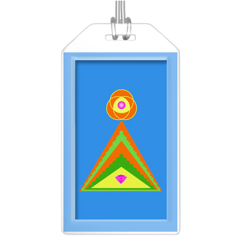 Luggage Tags - Diamond Pyramid