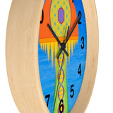 Wall Clock (Numbers) - Eye Am Showering Light