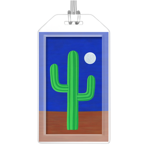 Luggage Tags - I Am Cactus