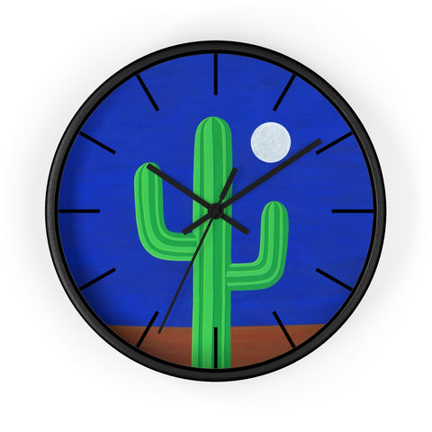Wall Clock (Lines) - I Am Cactus