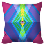 Outdoor Pillow - Eye Am Coming To Light