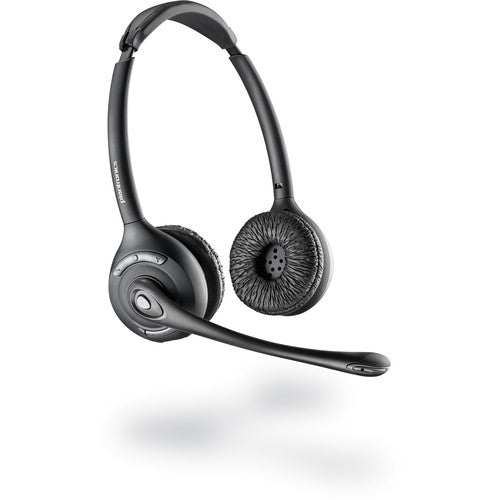 Plantronics CS520 Binaural Wireless Headset System Black