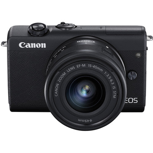 Canon EOS M200 Mirrorless Digital Camera with 15-45mm Lens (International Model)