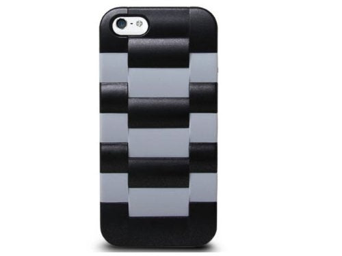 The Joy Factory Daytona V - Watchband Textured Case for iPhone5/5S, CSD124 (Gray)