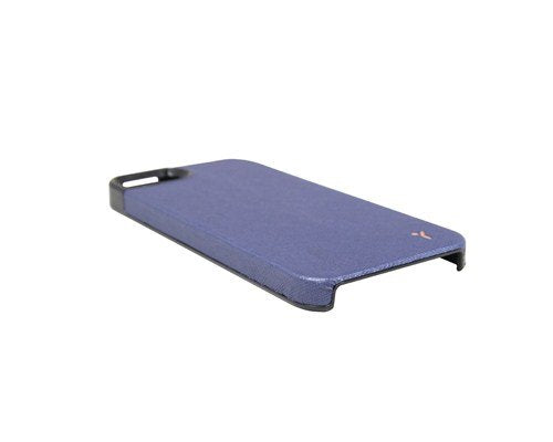 The Joy Factory Royce Premium Synthetic Leather Hardshell Case for iPhone5/5S, CSD115 (Navy)