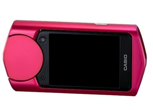Casio 11.1 MP Exilim High Speed EX-TR50 EX-TR500 Self-portrait Beauty/selfie Digital Camera (Red)