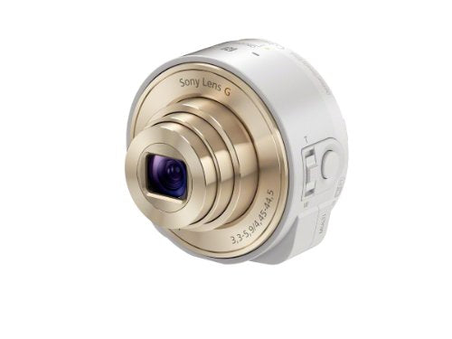 Sony DSC-QX10/W Smartphone Attachable 4.45-44.5mm Lens-Style Camera
