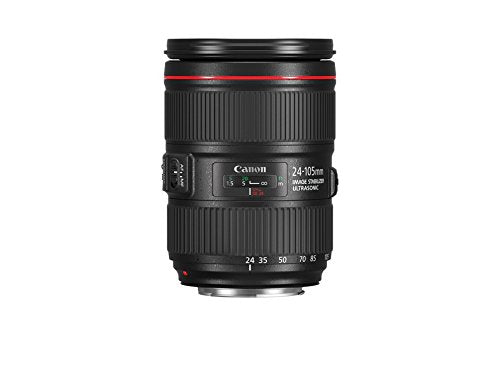 Canon Zoom Lens EF 24-105mm F/4l Is USM Image Stabilizer Autofocus USA