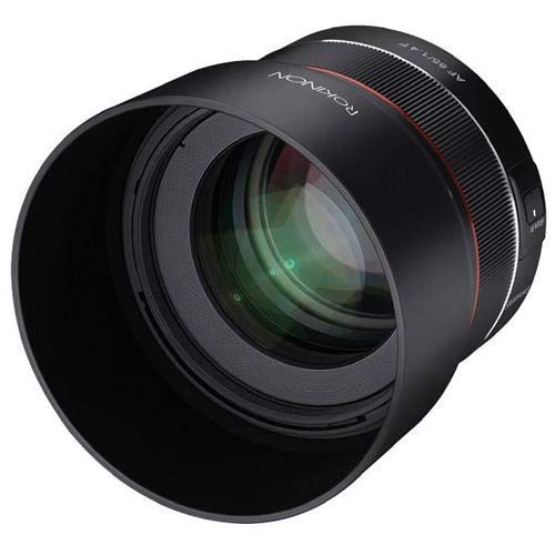 ROKINON 85mm F1.4 Auto Focus Full Frame Weather Sealed High Speed Telephoto Lens for Nikon F Mount