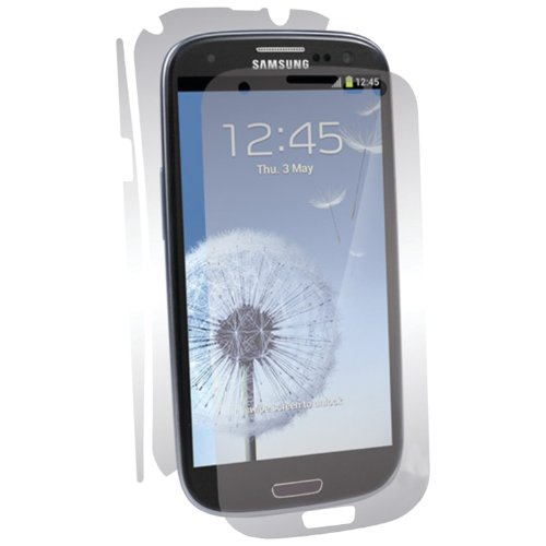 BodyGuardz BZ-USG3-0412 UltraTough Optically Clear Full Body Protectors with Anti-Microbial-Gel/Dry Apply for Samsung Ga