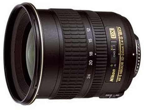 Nikon AF-S DX NIKKOR 12-24mm f/4G If-ED Zoom Lens with Auto Focus for DSLR Cameras International Version