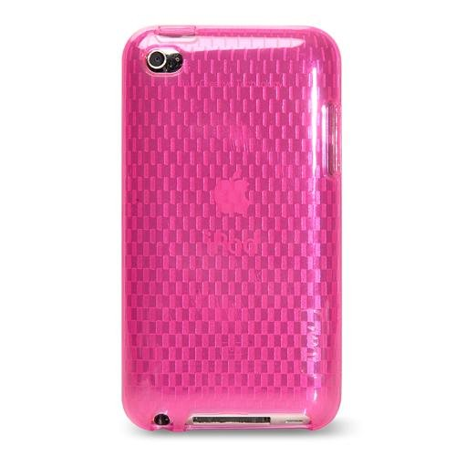 iLuv iCC615PNK Flexi-Clear (TPU) Case with Pattern for iPod Touch 4G (Pink)