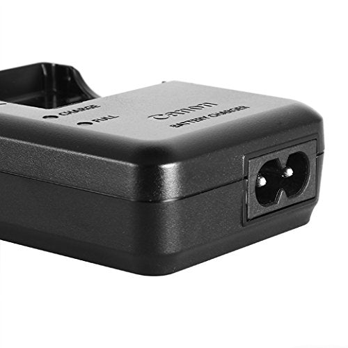 Original Genuine Canon CB-2LA Charger for PowerShot Camera NB-8L Battery [Non-retail Packaging]