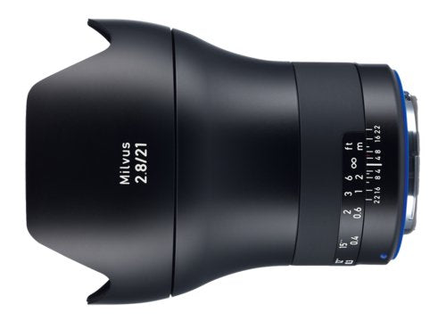 ZEISS Milvus 21mm f/2.8 ZE Lens Compatible with Canon EF