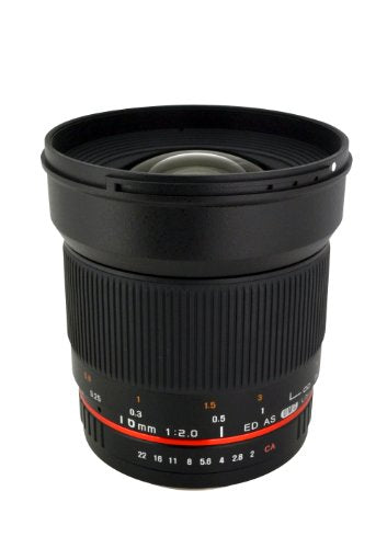 Rokinon 16M-M43 16mm f/2.0 Aspherical Wide Angle Lens for Olympus/Panasonic Micro 4/3 Cameras