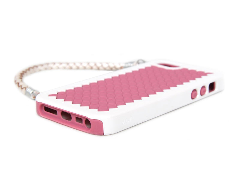 The Joy Factory New York Woven Handbag Case with Handle for iPhone5/5S, CSD120 (Pink)