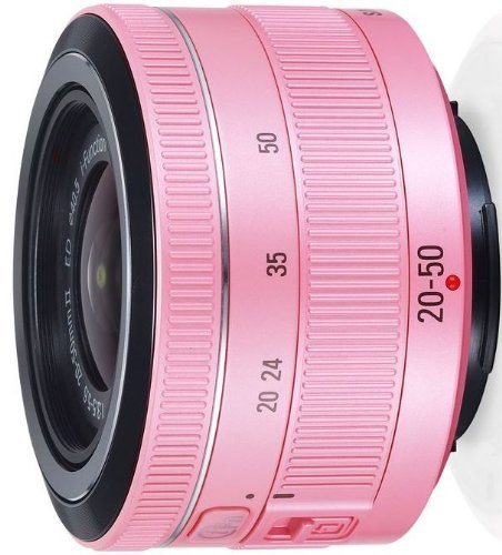 Samsung EX-S2050BNP/US 20-50 f/3.5-5.6 ED II Lens for the NX Cameras (Pink)(White Box)