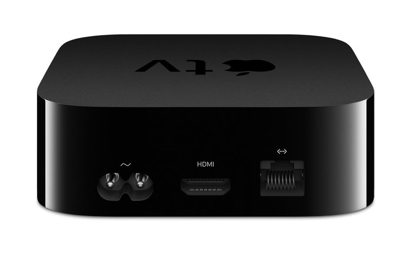 Apple TV 4K HD 32GB Streaming Media Player HDMI with Dolby Digital and Voice search by Asking the Siri Remote, Black, MQ