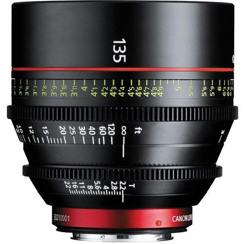 Canon CN-E 135mm T2.2 L F Cinema Prime Lens (EF Mount)