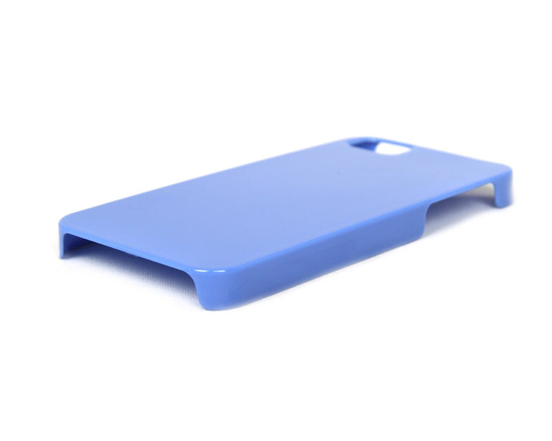 The Joy Factory Madrid - Ultra Slim PC Case with Screen Protector for iPhone5/5S, CSD132 (Blue)