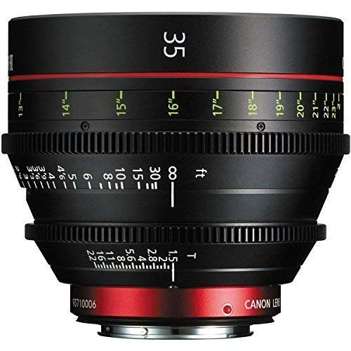 Canon CN-E 35mm T1.5 L F Cine Prime Lens EF Mount - International Version (No Warranty)