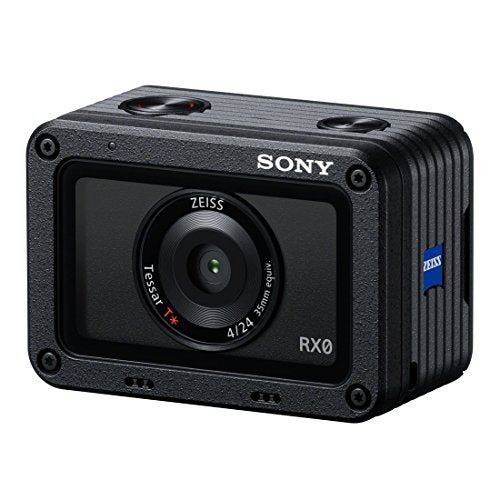 Sony 1.0-type Sensor Ultra-Compact Camera with Waterproof and Shockproof Design (DSCRX0) (International version) No Warr