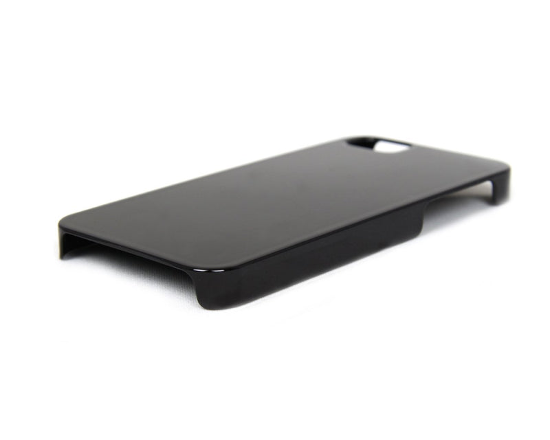 The Joy Factory Madrid - Ultra Slim PC Case with Screen Protector for iPhone5/5S, CSD134  (Jet Black)