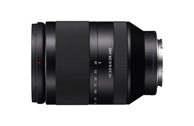 Sony FE 24-240mm f/3.5-6.3 OSS Interchangeable Full-frame E-mount Telephoto Zoom Lens - International Version (No Warran