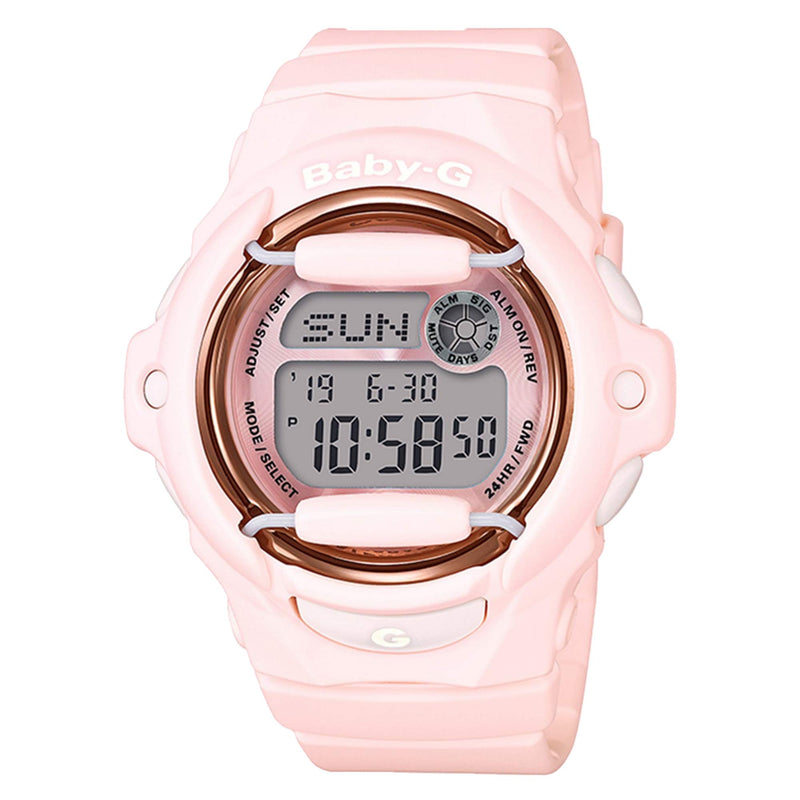 Casio Baby-G BG169R-7E with Purple Dial Wrist Watch for Women