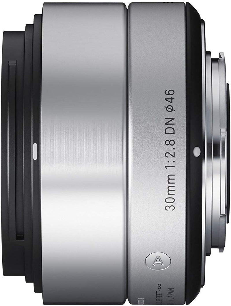SIGMA ART 30MM F2.8 DN SILVER LENS FOR MICRO FOUR THIRDS MOUNT