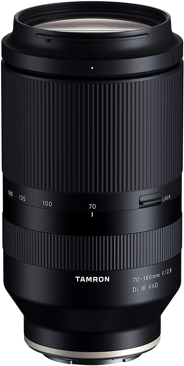 Tamron 70-180mm F/2.8 Di III VXD for Sony Full Frame/APS-C E-Mount (International Version)