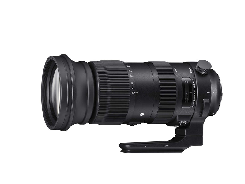 Sigma 60-600mm f/22-32 Fixed Zoom F4.5-6.3 DG OS HSM Camera Lenses, Black (730954), Canon EF