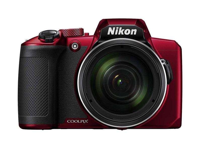 Nikon COOLPIX B600 Digital Camera (Red) International Model