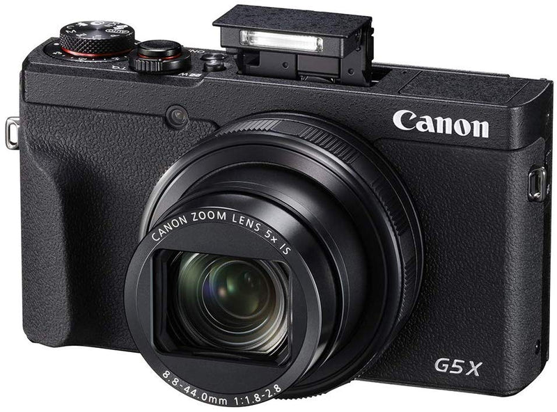 Canon PowerShot G5 X Mark II Digital Camera w/ 1 Inch Sensor, Wi-Fi & NFC Enabled, Black (International Model)