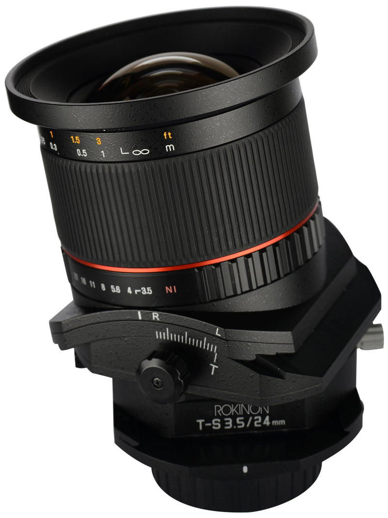 Rokinon TSL24M-N 24mm f/3.5 Tilt Shift Lens for Nikon