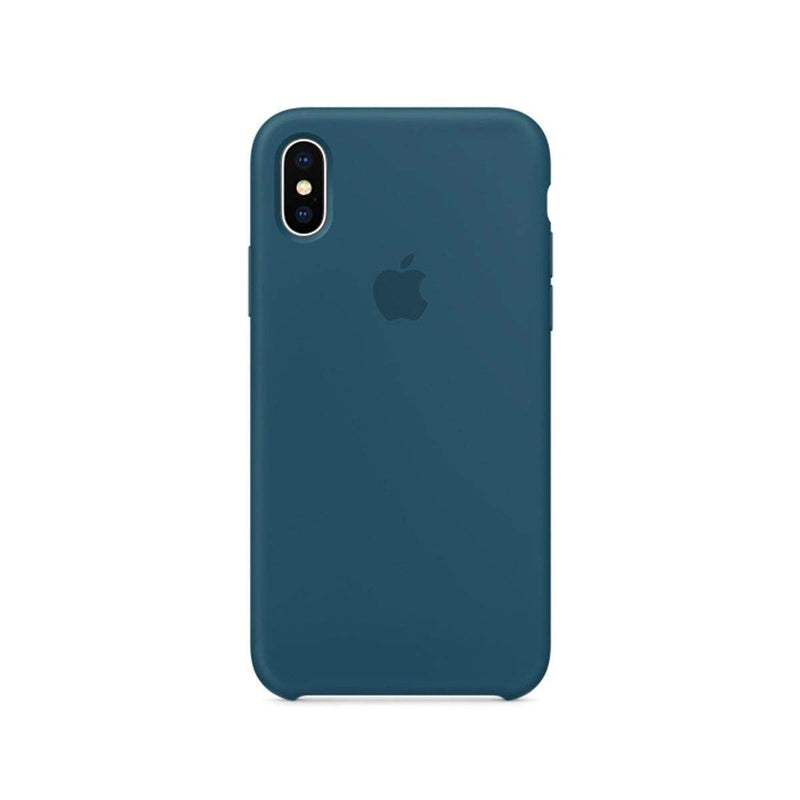 Apple iPhone X Silicone Case Cosmos Blue MR6G2ZM/A