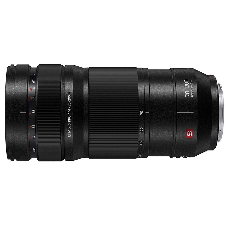 Panasonic LUMIX S PRO 70-200mm F4 Telephoto Lens, Full-Frame L Mount, Leica ertified, Optical Image Stabilizer and Dust/Splash/Freeze-Resistant for LUMIX S Series Mirrorless Cameras - S-R70200 (USA)