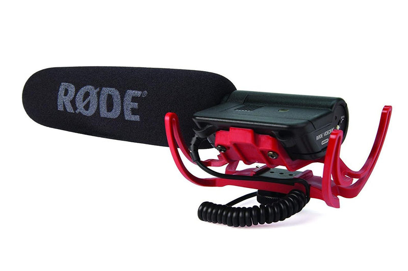 Rode VideoMic Camera Mount Shotgun Microphone with Rycote Shock Mount