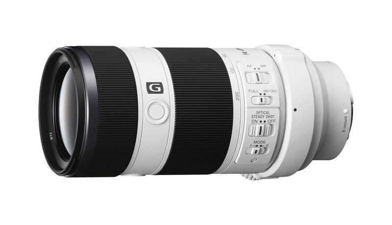 Sony SEL70200G FE 70-200mm F4 G OSS E-mount Full Frame Interchangeable Lens