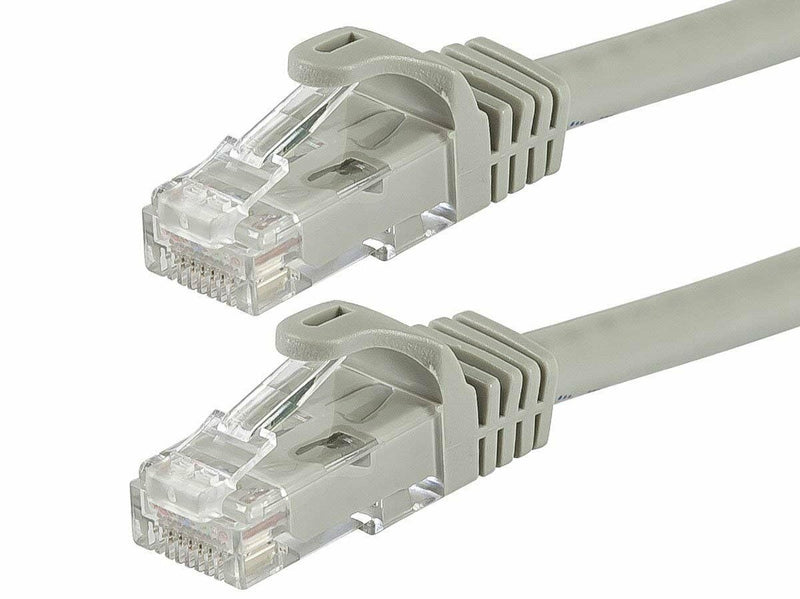 Monoprice Flexboot Cat6 Ethernet Patch Cable - Network Internet Cord - Bundle