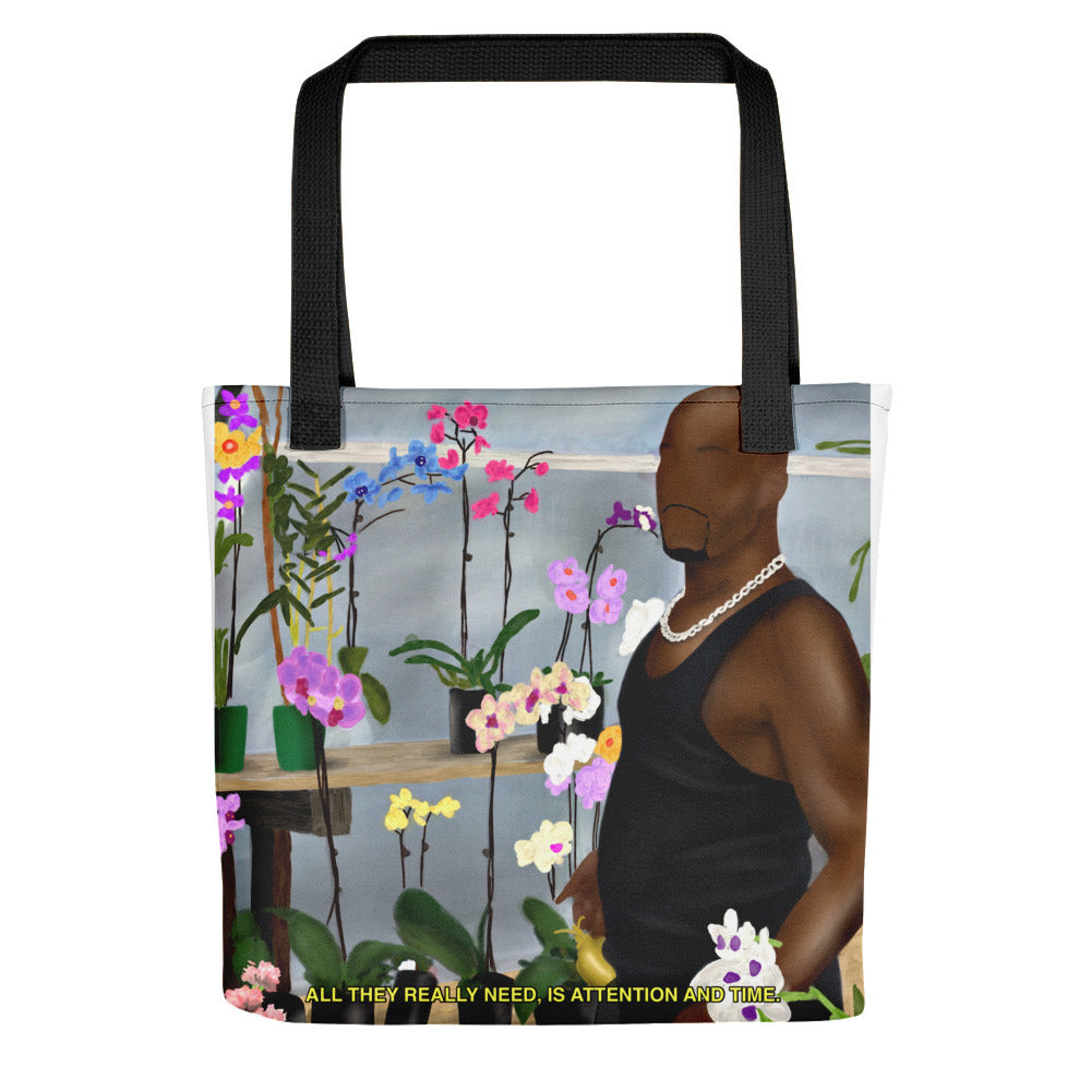 Attention and Time Tote bag