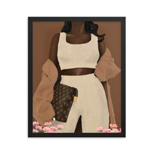 "Load image into Gallery viewer, A Night Out ""Chocolate Edition"" Framed poster"